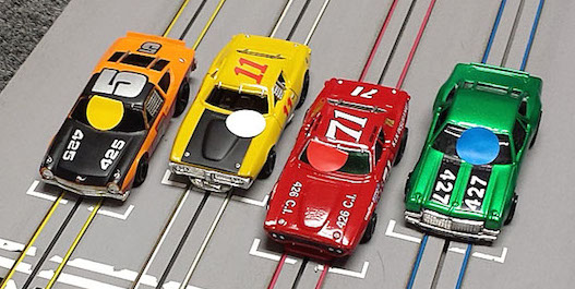 Vintage NASCAR G-Jets