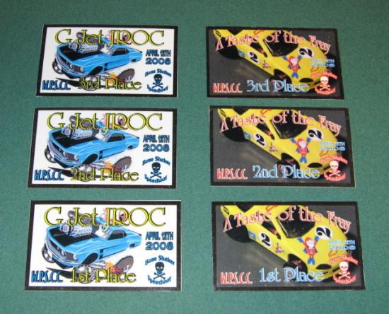 Race Plaques